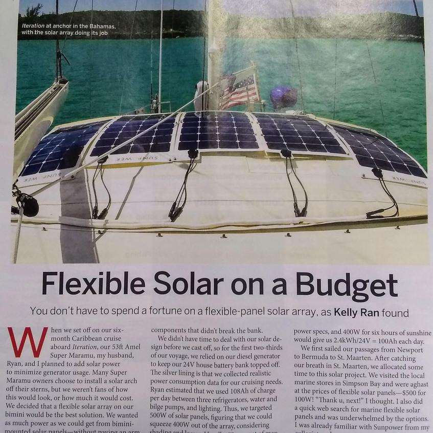 SAIL magazine January