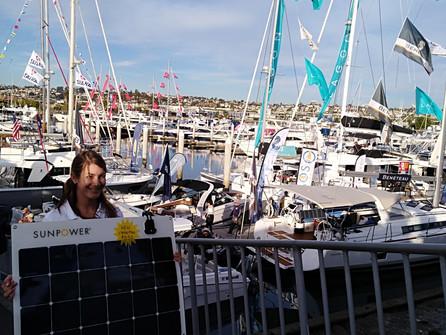 Sun Powered Yachts in San Diego!