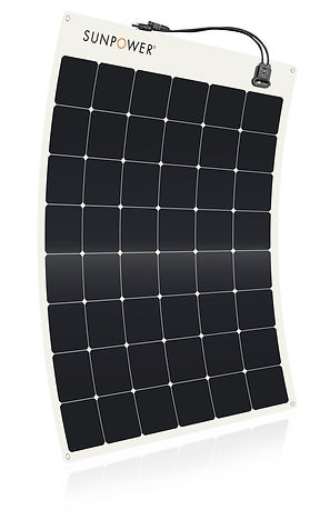 SunPower 170W flexible marine solar panel
