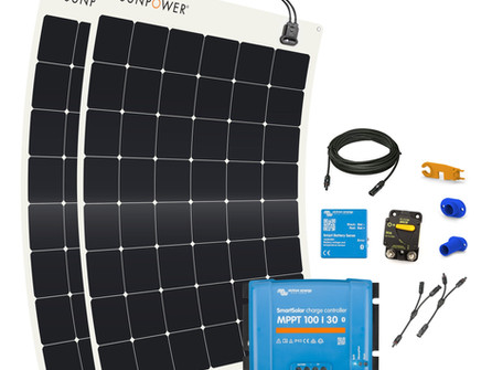 "SunPower flexible solar panel ""bundles"""