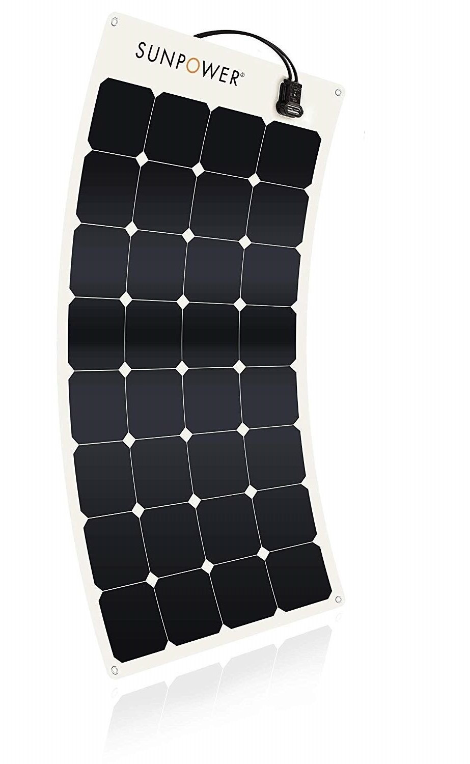 SunPower 100W flexible solar panel