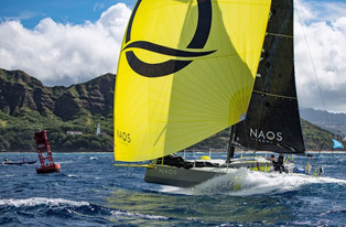 Finishing the TransPac 2019 powered by SunPower