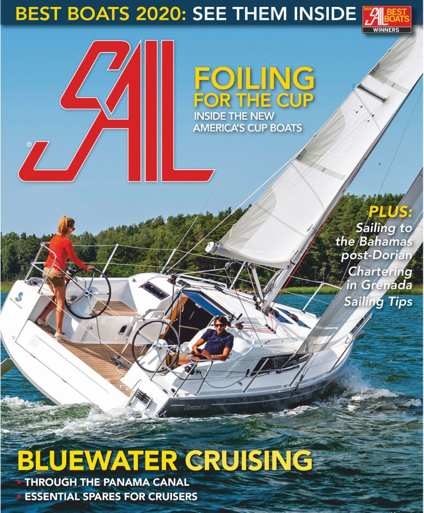 SAIL magazine, January 2020 cover