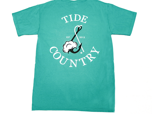 Tide & Country Pocket Tee - Spanish Moss