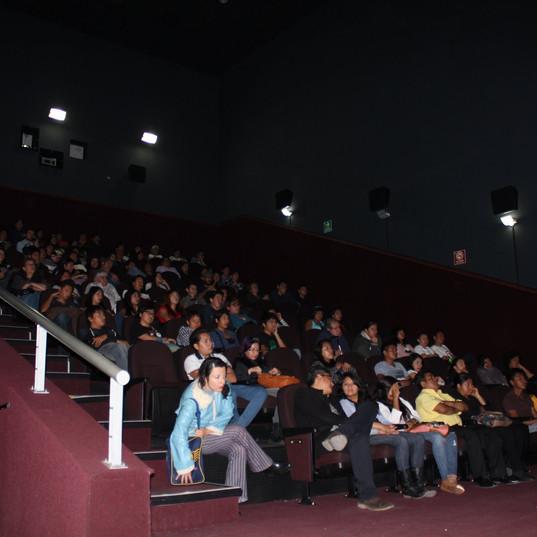Presentación en Cine