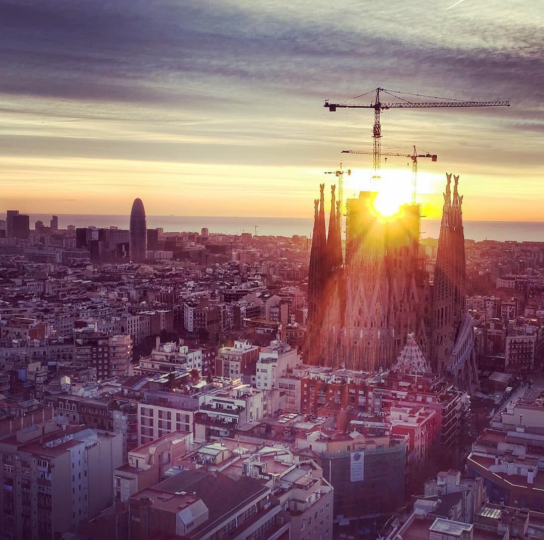 Barcelona Drone