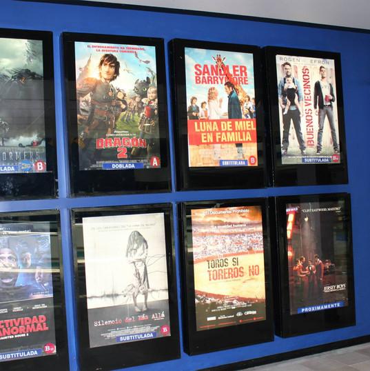 Cajas de luz cine