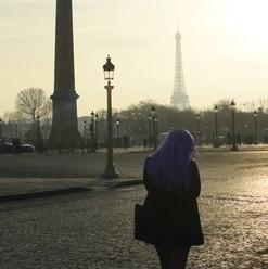 Filmación Calle París, Francia