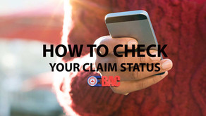 Quickly check status of a claim