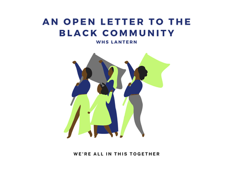 An Open Letter to The Black Community