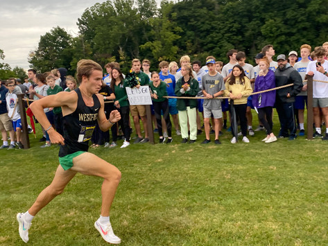 Kai Connor blazes his path into the Rocks' cross country record books