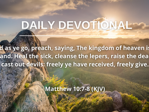 DELIVERANCE AND THE MESSAGE OF THE KINGDOM