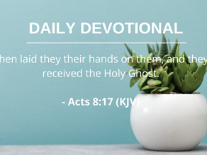 Receiving the Holy Spirit Pt.5