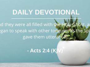 Receiving the Holy Spirit Pt.2