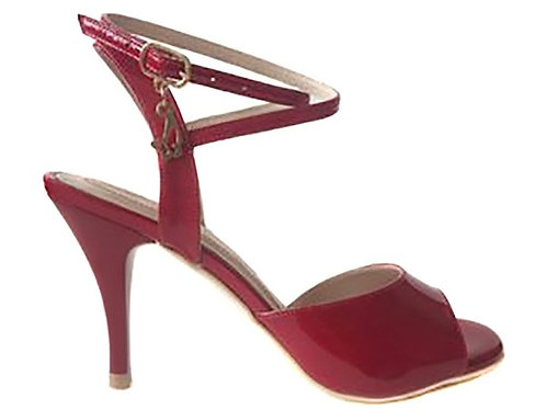 M38 Red Patent (Heel 7.5)