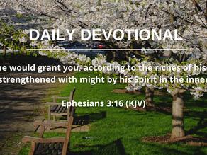 GOD'S POWER IN WEAKNESS