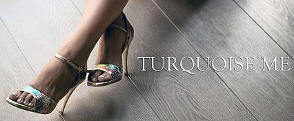 tango shoes turquoise タンゴシューズ ターコイズ