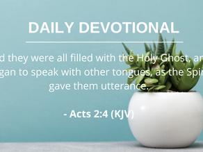 Receiving the Holy Spirit Pt.6