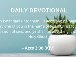 Receiving the Holy Spirit Pt.1
