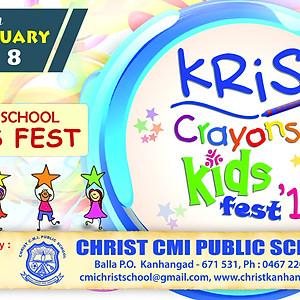 Kris Crayons - Inter School Kids Fest