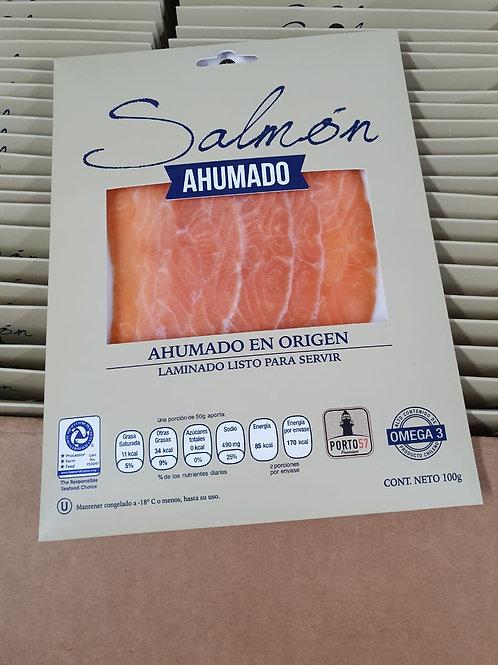 SLICE SALMON AHUMADO