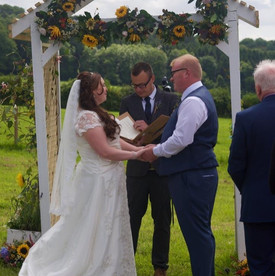 Zoe and Russell's Wedding, Hertfordshire