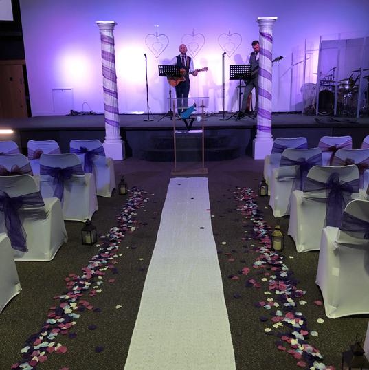 Wedding in Victory Church, Newport