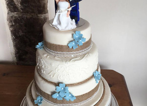 A week in the life of a wedding cake maker!