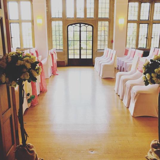 Wedding in Chew Valley Venue