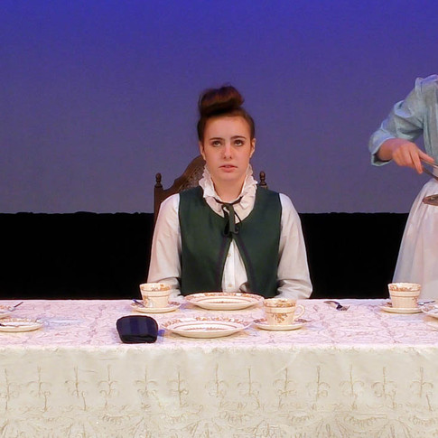 Madame Arbour comes to tea, and tells about going to the mountains