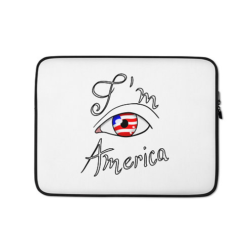 I'm America Laptop Sleeve