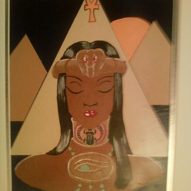 Egyptian Princess Poster