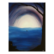 couple_in_a_boat_with_cabin_poster-r8467