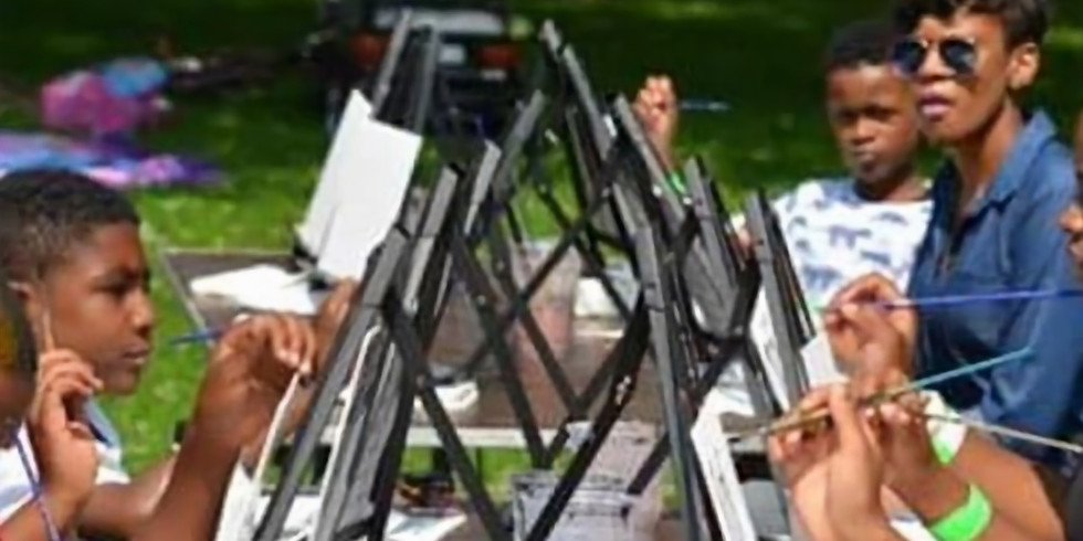Painting in the Park Family Fun Day 2021