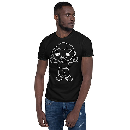 TJ Outline Short-Sleeve Unisex T-Shirt
