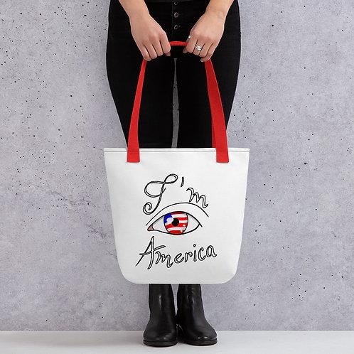 I'm America Tote bag