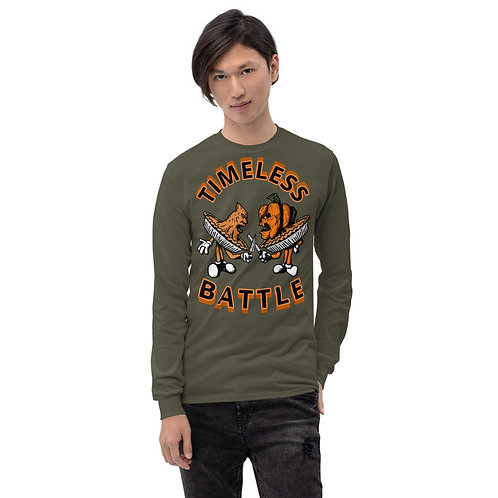 Timeless Battle (Sweet Potato vs Pumpkin) Long Sleeve Shirt
