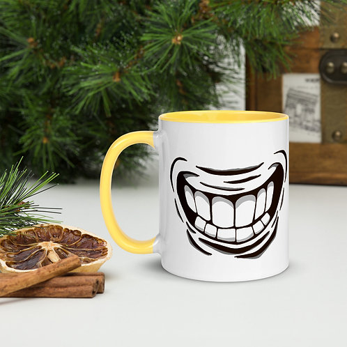 Smiile Mug with Color Inside