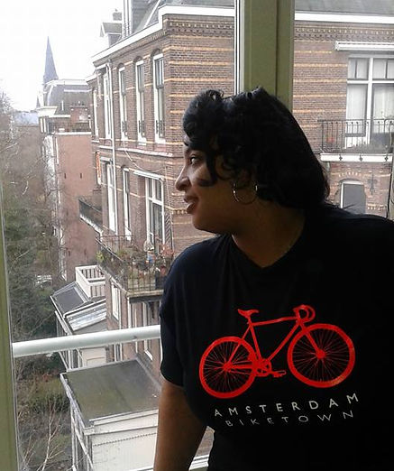 Denise in Amsterdam
