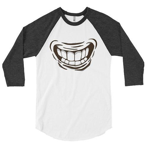 Smiile 3/4 sleeve raglan shirt