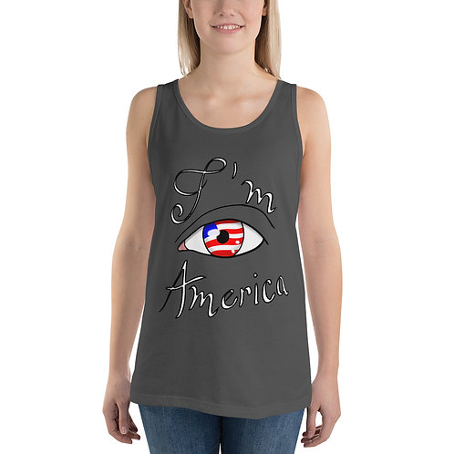 I'm America Unisex Tank Top