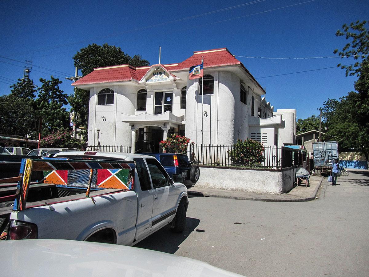 L'hôtel de ville de Croix-des-Bouque