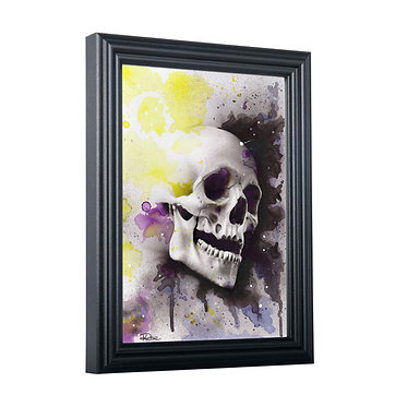 Water Colour Skull