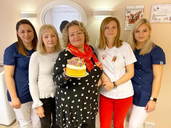 Natcare Beauty Team Celebration