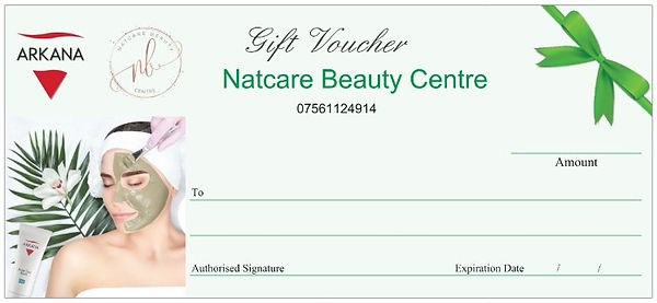 Natcare Beauty Voucher