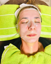 Natcare Beauty During Facial