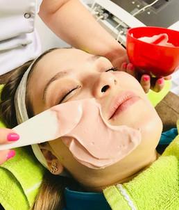 Natcare Beauty calming mask