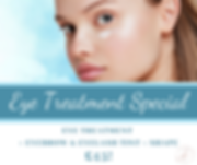 Eye Treatment Special at natcare beauty