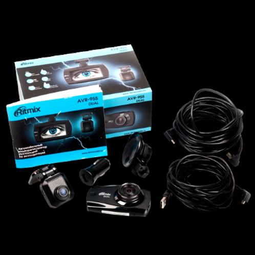 Видеорегистратор RITMIX AVR-955 c двумя камерами