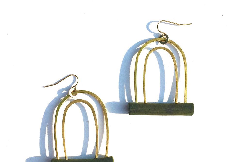Moss + Brass Arches